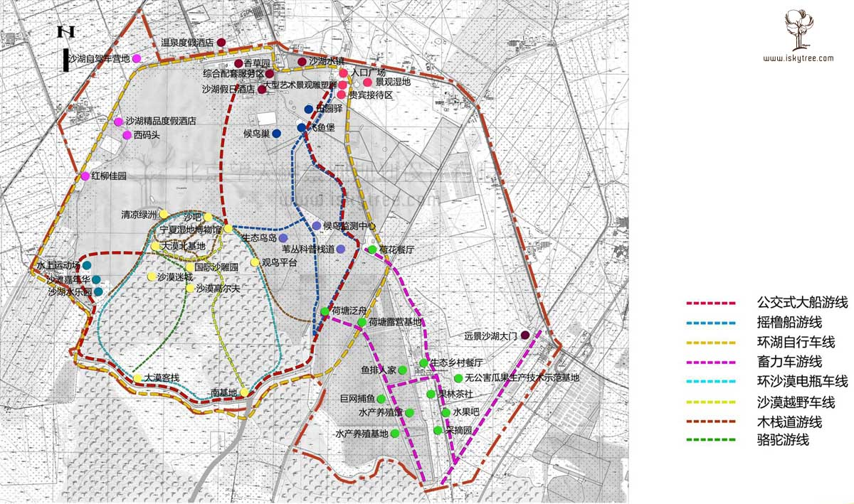 寧夏沙湖景區主題旅游線路規劃